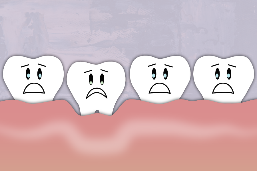 A receding gum line can't grow back, but it can be prevented. Learn more about what causes our gums