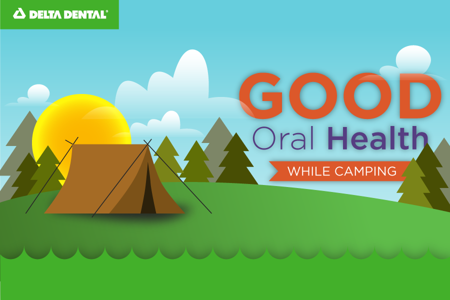 Keep all mouths in your family healthy while camping, RVing, or away from home this summer.