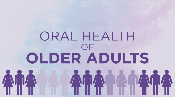 Dental Health of Older Adults Infographic