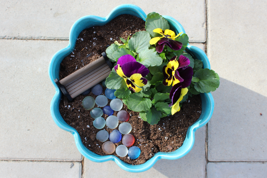 DIY Tooth Fairy Garden