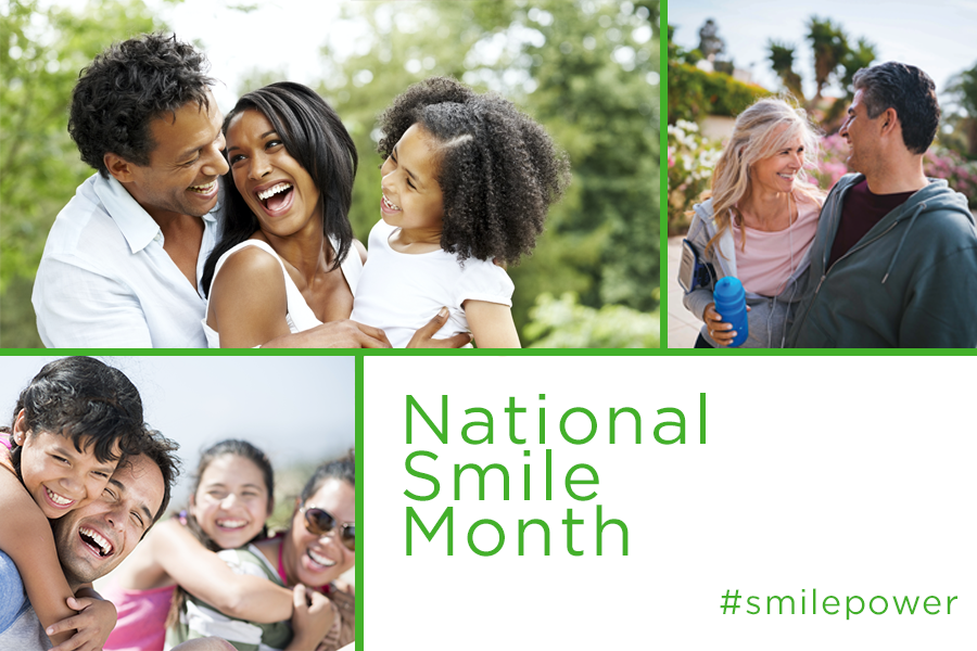 Use National Smile Month in June to improve your understanding of the connection between our mouth a