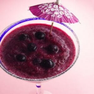 Blueberry lime Margarita