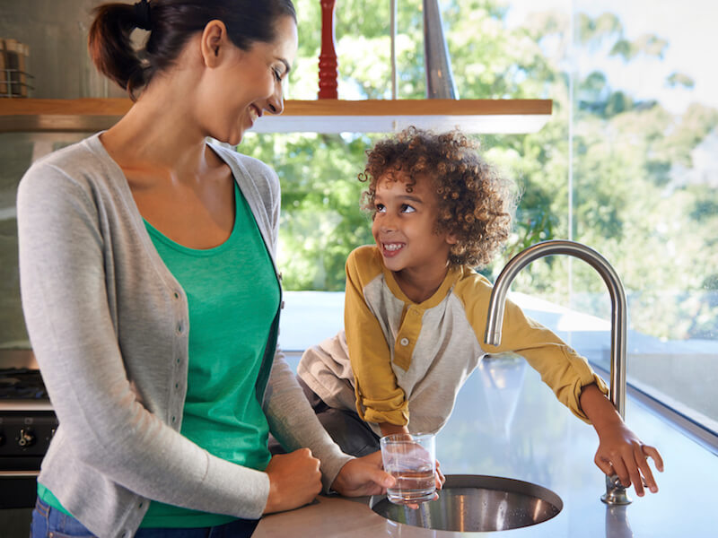 Here's Why Kids Benefit From Drinking Tap Water