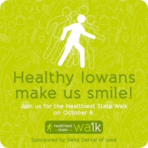 Delta Dental of Iowa Sponsors Healthiest State Walk