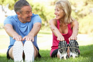 Staying fit and active will keep you looking younger - longer.